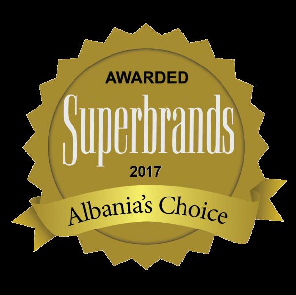 Winner of Superbrands 2017
