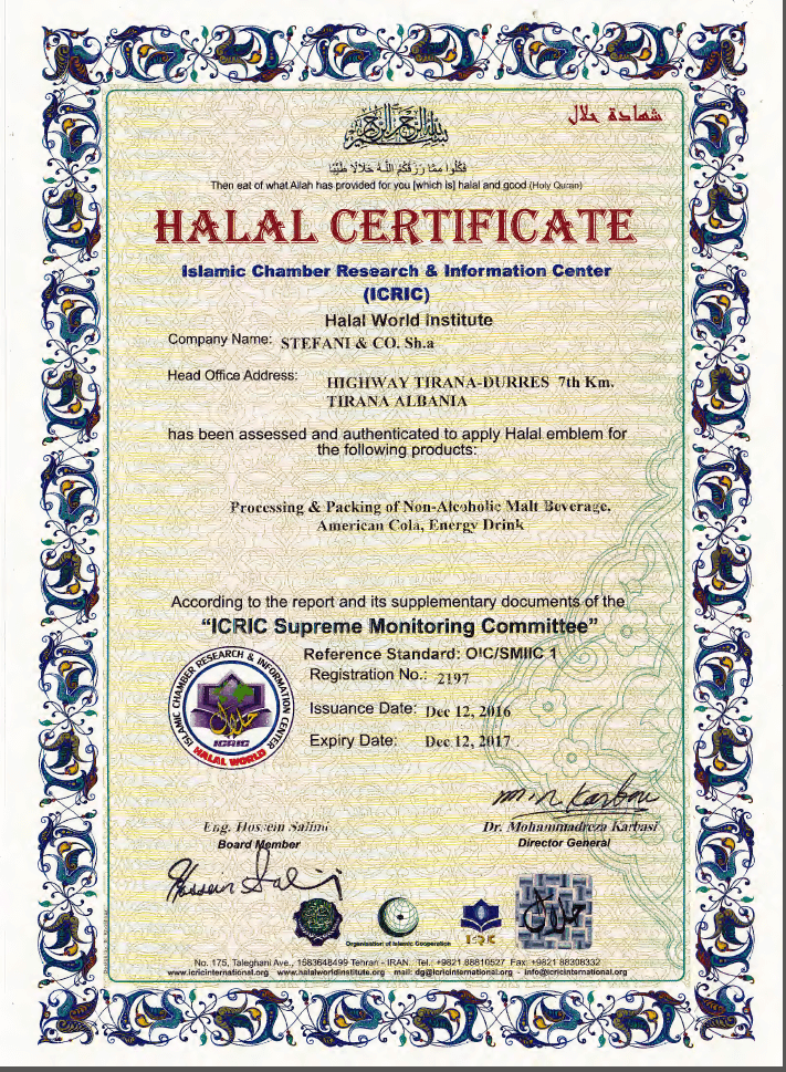 Çertifikata Halal
